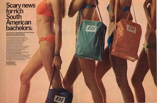 Braniff bikini girls