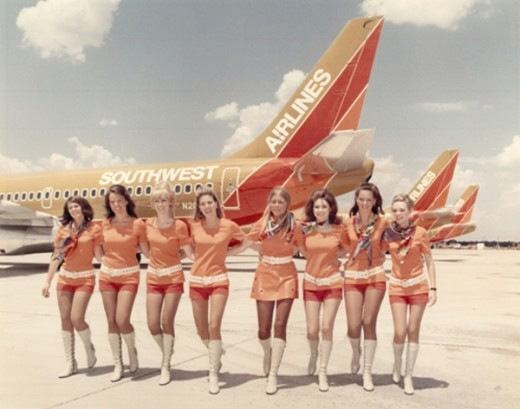 Southwest Airlines girls