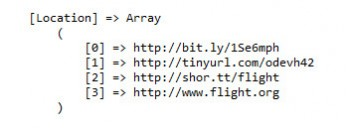 Resolve Short URLs To Their Destination URL with PHP