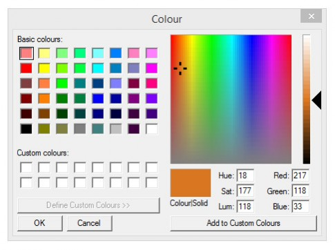Convert RGB Colour Values to HSV and HSL with PHP
