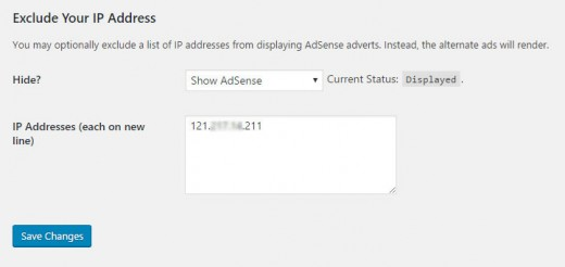Simple AdSense WordPress Plugin