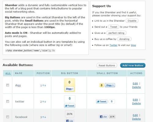 Add Google Plus and LinkedIn to the WordPress Sharebar Plugin