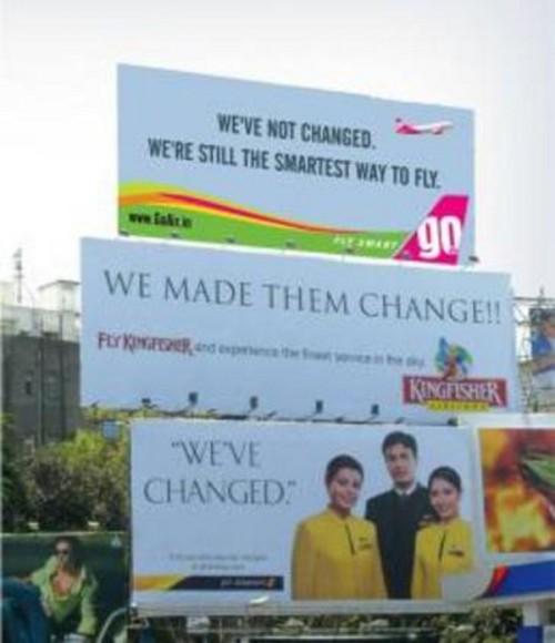 Billboard Ambush Advertising in India
