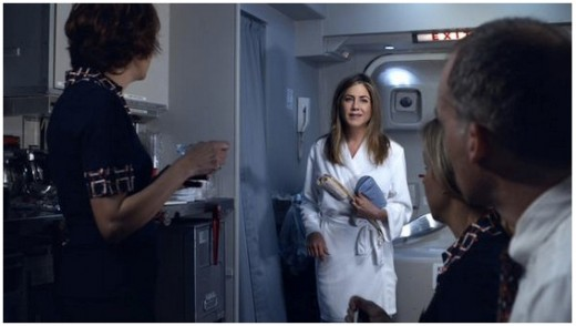 Jennifer Aniston Mocks US Carriers in Her New Emirates TV Commercial