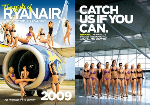 Ryanair Cabin Crew Strip For Charity