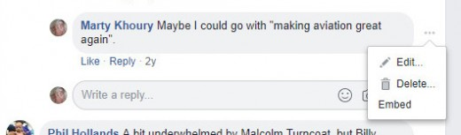 Facebook Embed Comment