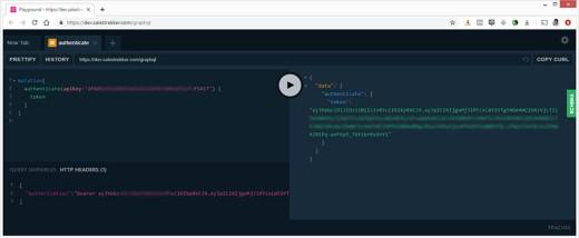 SalesTrekker API Playground
