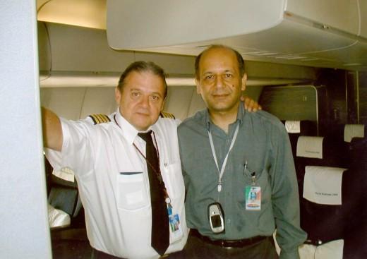 Bo Corby and Mr. Akbari