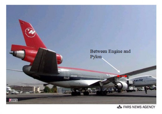 DC10 Engine & Pylon
