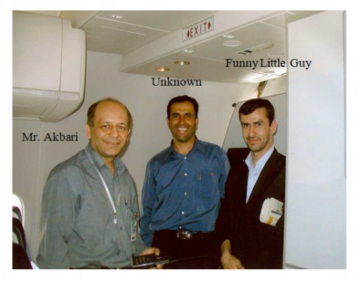 Flight 41 Iran Personnel