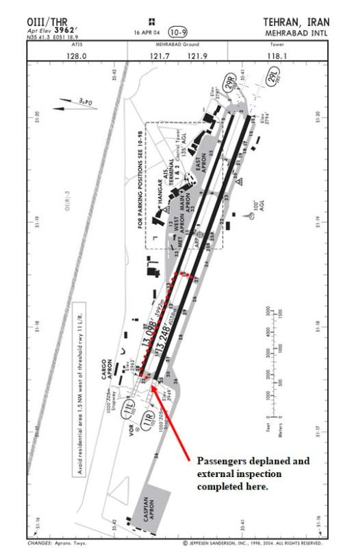 Flight 41 Passengers Disembarked