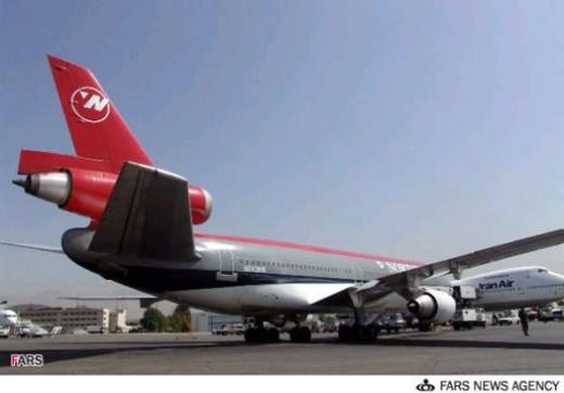 NWA Flight 41 in Tehran