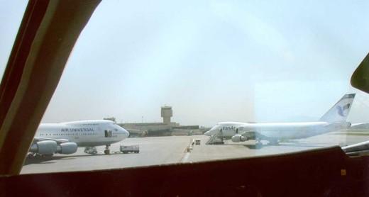 NWA41 Prior to Departing Iran