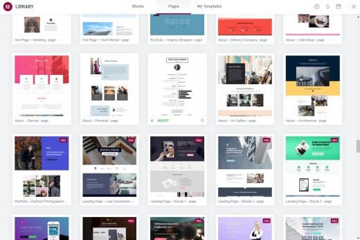 Elementor Page Designs