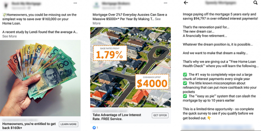 Non Compliant Facebook Advertising