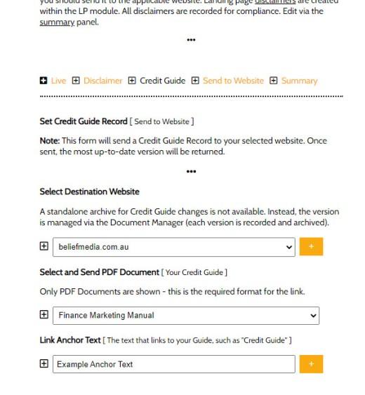 Credit Guide Select