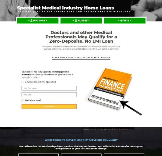 Medico Home Loans Simple Panel