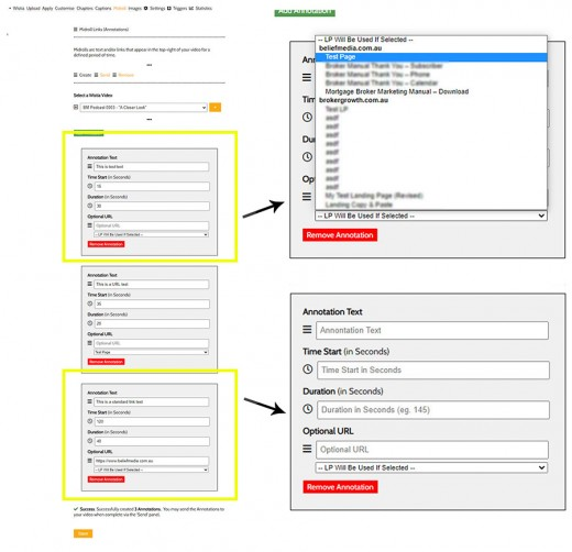 Wistia Annotations