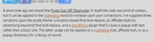 Find and Replace Words in a WordPress Post