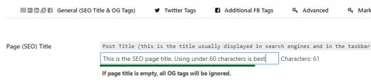 Page SEO Title