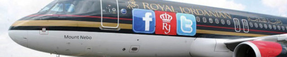 Royal Jordanian on Social Media