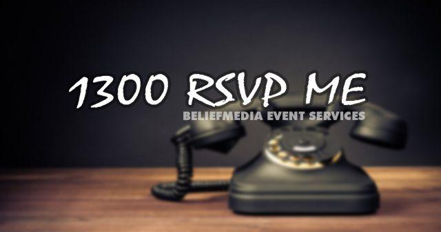 BeliefMedia 1300 RSVPME Service