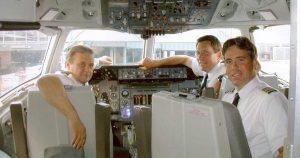 NWA Flight 41 into Tehran