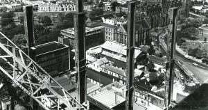 Reserve Bank Rooftop, 1962