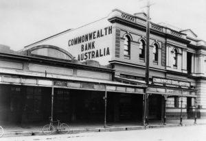 Commonwealth Bank at Maryborough, 1920