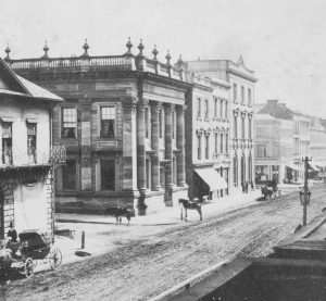 Commercial Bank and Bank of New South Wales, Sydney, 1860