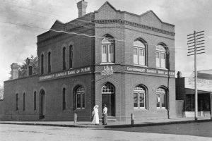 Government Savings Bank of NSW. Bowral. 1916