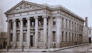 Oriental Bank, Melbourne, c1880