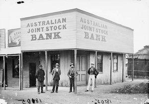 Australian Joint Stock Bank, 1872