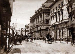 George St, Near King St, 1890